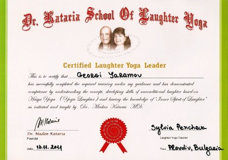 Георги Яръмов - сертификат 2